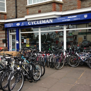 Sale of Cycleman in Eastbourne