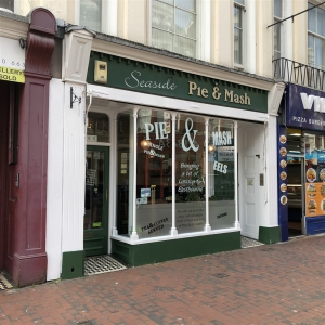 Traditional Pie & Mash Shop in Eastbourne